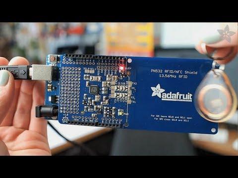 Adafruit NFC/RFID Shield for Arduino