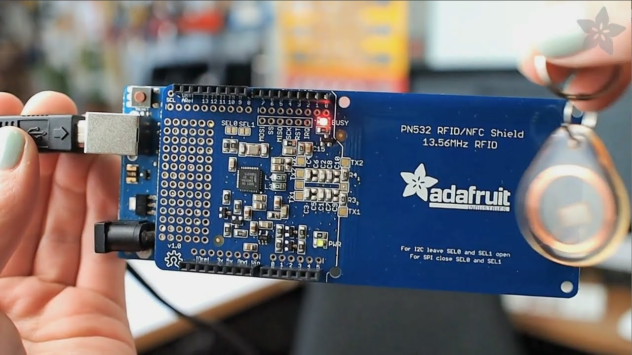 Adafruit NFC/RFID Shield for Arduino