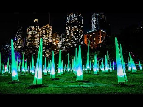Vivid Sydney 2019 Royal Botanic Garden Sydney Precinct Highlights