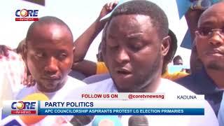 KADUNA APC COUNCILLORSHIP ASPIRANTS PROTEST LG ELECTION PRIMARIES...watch & share...!