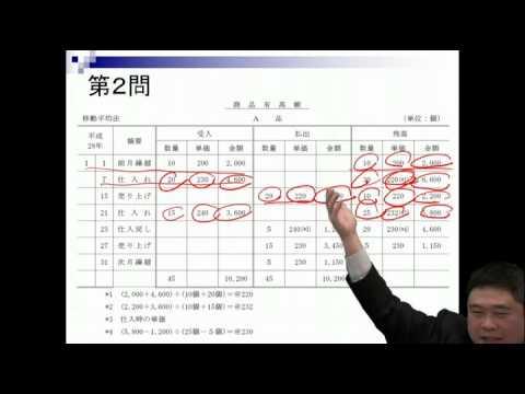 簿記 3 級 試験 問題