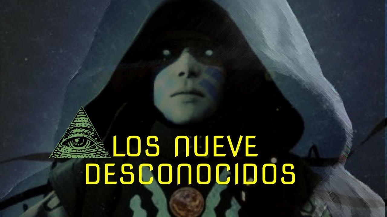 EL GRUPO SECRETO DE LOS 9 DESCONOCIDOS
