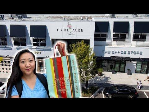 Exploring Hyde Park Village 🛍️ Shopping + Eating   Tampa Neighborhoods   JEN TALKS FOREVER