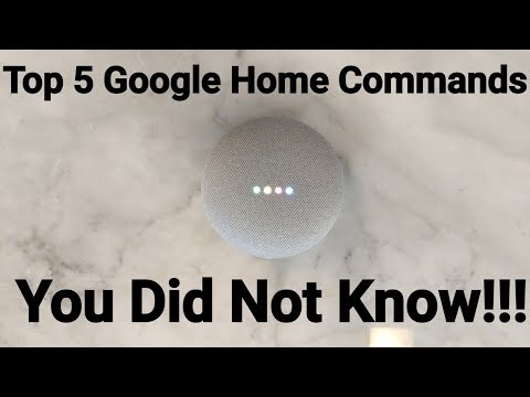 Top 5 Fun Google Home Commands That You Did Not Know About!!!