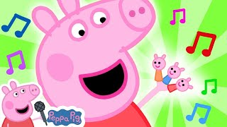 Peppa Pig Official Channel 🎵 Peppa Pig Finger Family Song@Peppa Pig - Nursery Rhymes and Kids Songs
