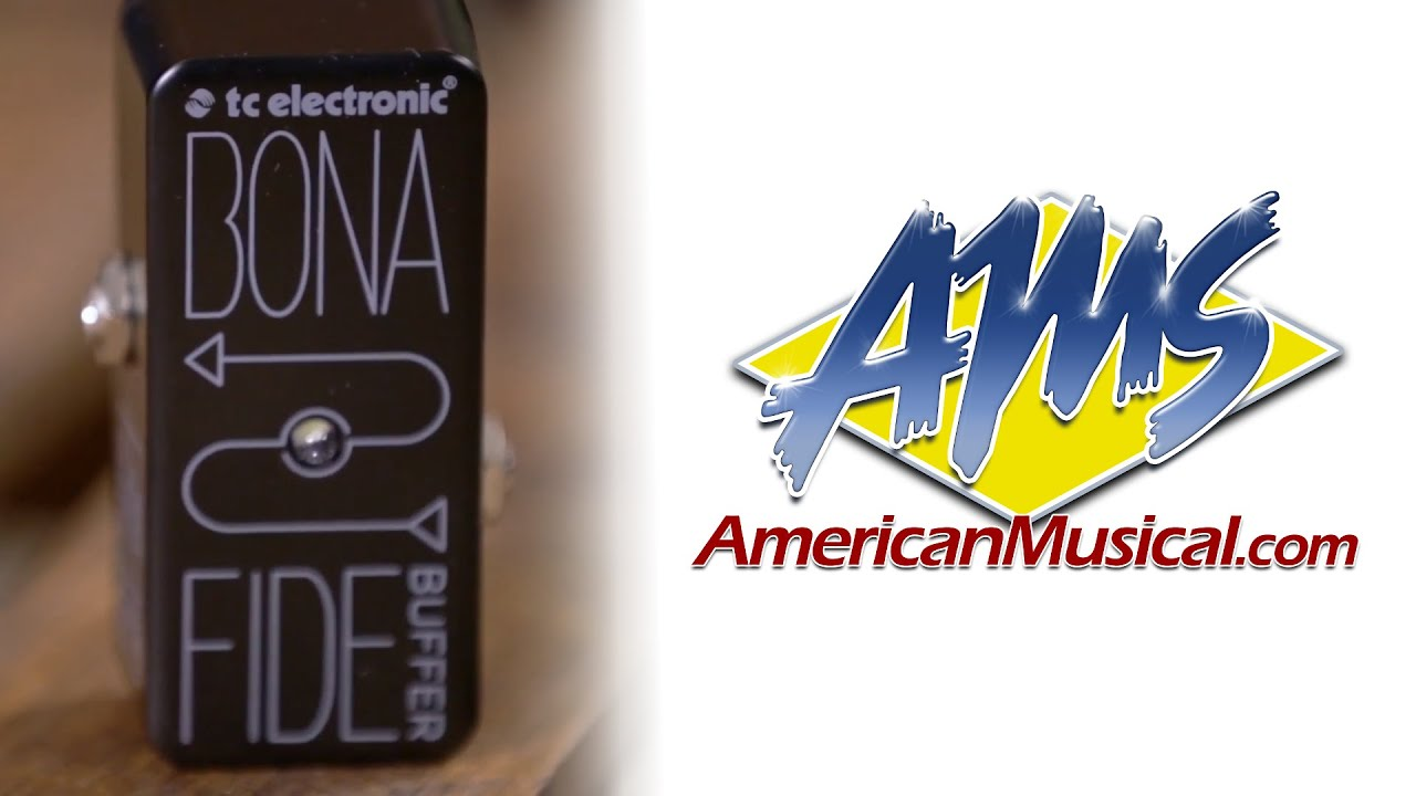 tc electric bonafide overview tc electronic bonafide buffer pedal youtube. Black Bedroom Furniture Sets. Home Design Ideas