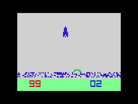 VC 23b - Lunar Lander - (1980) - Channel F - gameplay HD