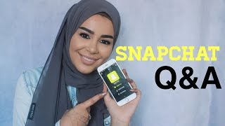 Snapchat Q&A: ready to marry, uni advice, work, motivation, food etc.