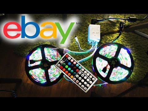 Покупка на Ebay - Светодиодная лента RGB LED
