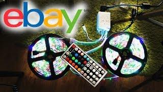 Покупка на Ebay - Светодиодная лента RGB LED(Подстветка - http://bit.ly/ebayLedStrip Вся инфа здесь - http://www.3bepbe.com/ Также жду вас на моем канале http://www.youtube.com/user/3BEPbEnokia..., 2014-06-28T08:00:02.000Z)
