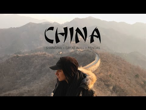 CHINA: THE GREAT WALL, PANDAS, AND SHANGHAI | Semester at Sea Travel Vlog