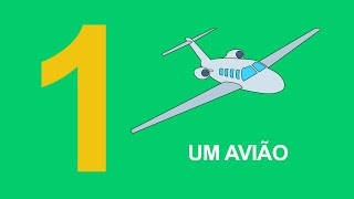 Ensinando os números em português para crianças - Numero um