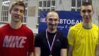 Чемпионат МГУ-2013 по легкой атлетике. Тройной прыжок, мужчины