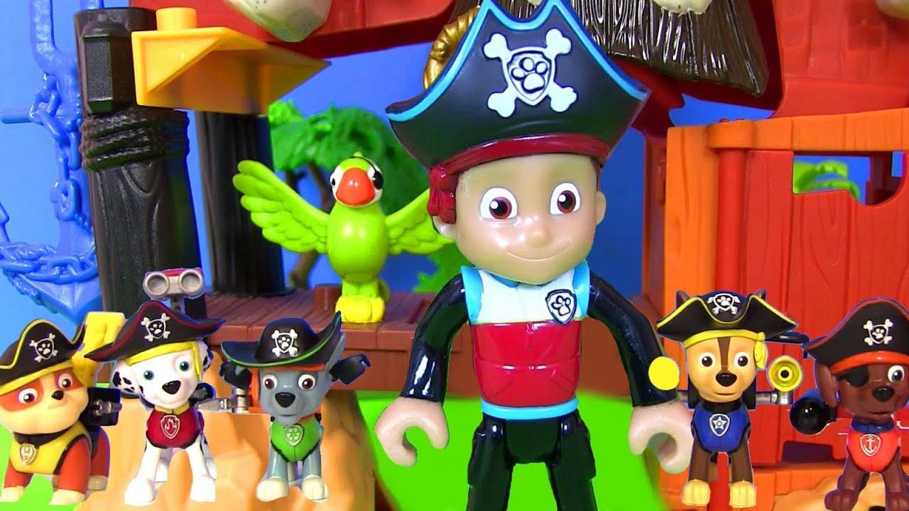 щенячий патруль новые серии Pirate Pups видео для детей Paw Patrol мультики с игрушками