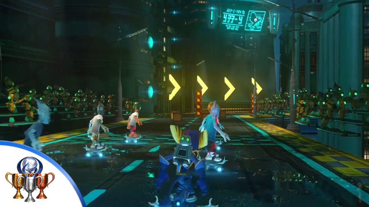 Ratchet Clank Ps4 Faster Than A Speeding Amoeboid Complete