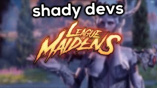 League Of Maidens - A Shady Game By Shady People
