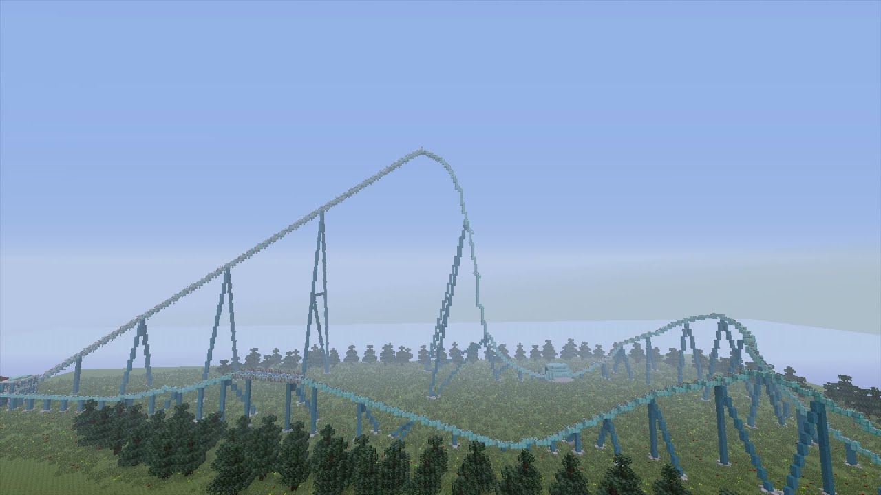 Leviathan: Minecraft Roller Coaster - YouTube