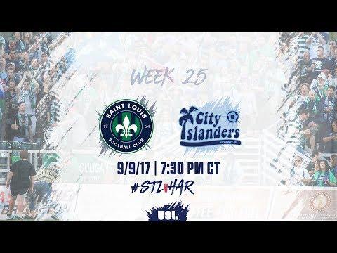 USL LIVE - Saint Louis FC vs Harrisburg City Islanders 9/9/17