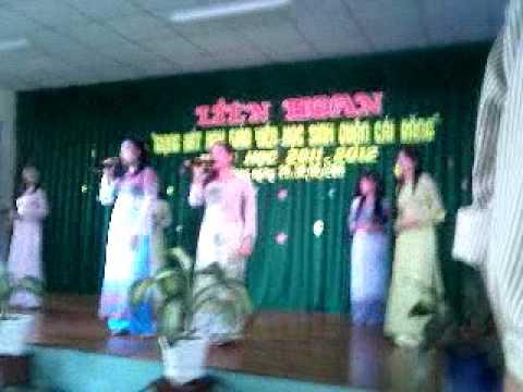 Liên hoạn giọng hát hay 2011 - Bài ca cô giáo trẻ - Thanh vân, Ngọc cầm, Thoa, Diệu, Uyên, Giang