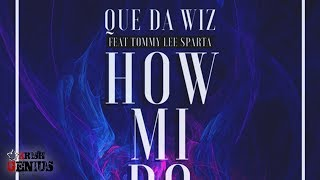 Que Da Wiz Ft. Tommy Lee Sparta - How Mi Do It (Raw) June 2017