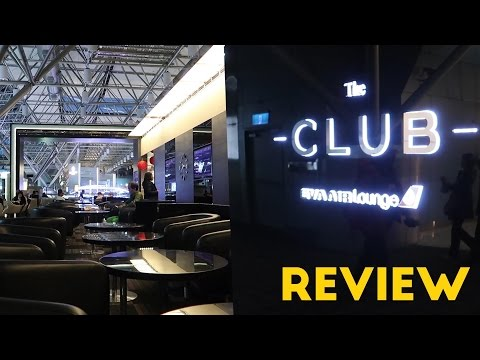 "Eva Air ""The Club"" Airport Lounge Review (Star Alliance)"