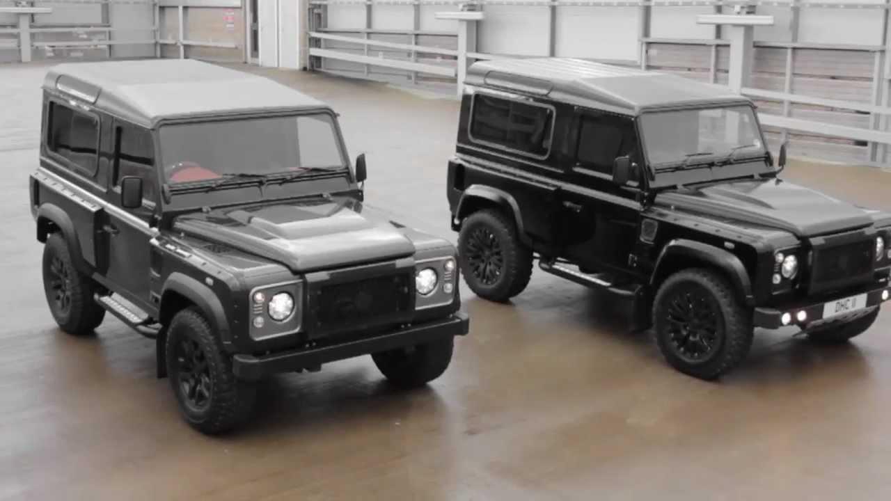 Kahn tv land rover defender chelsea truck company by kahn design youtube