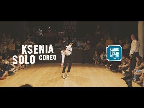 KSENIA SOLO COREO  Swing Train Festival 2018  IV Ed.