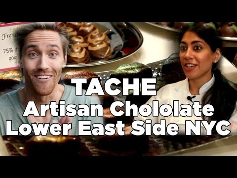 Lower East Side, NYC: TACHE Artisan Chocolate -- In The Cut #6