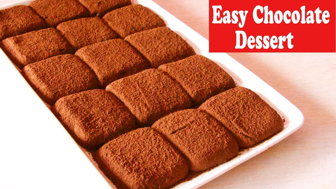 Easy Best Condensed Milk Chocolate Truffles Recipe No Fire No Oven No Eggs Dessert Recipe Youtube