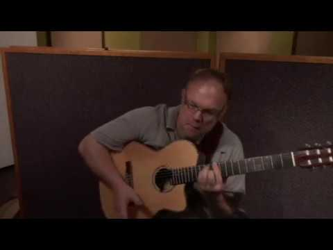 """The Easy Winners"" For Solo Guitar. Richard Smith"