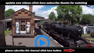 Brass band on train demonstrates Doppler effect