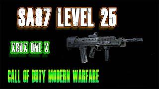 SA87 level 25  Beta XBox One X | Call of duty modern warfare