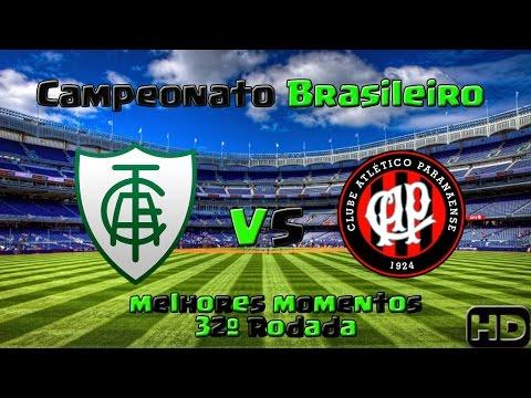 Os melhores momentos de América MG 1 x 0 Atlético PR pela 32ª rodada do Brasileirão