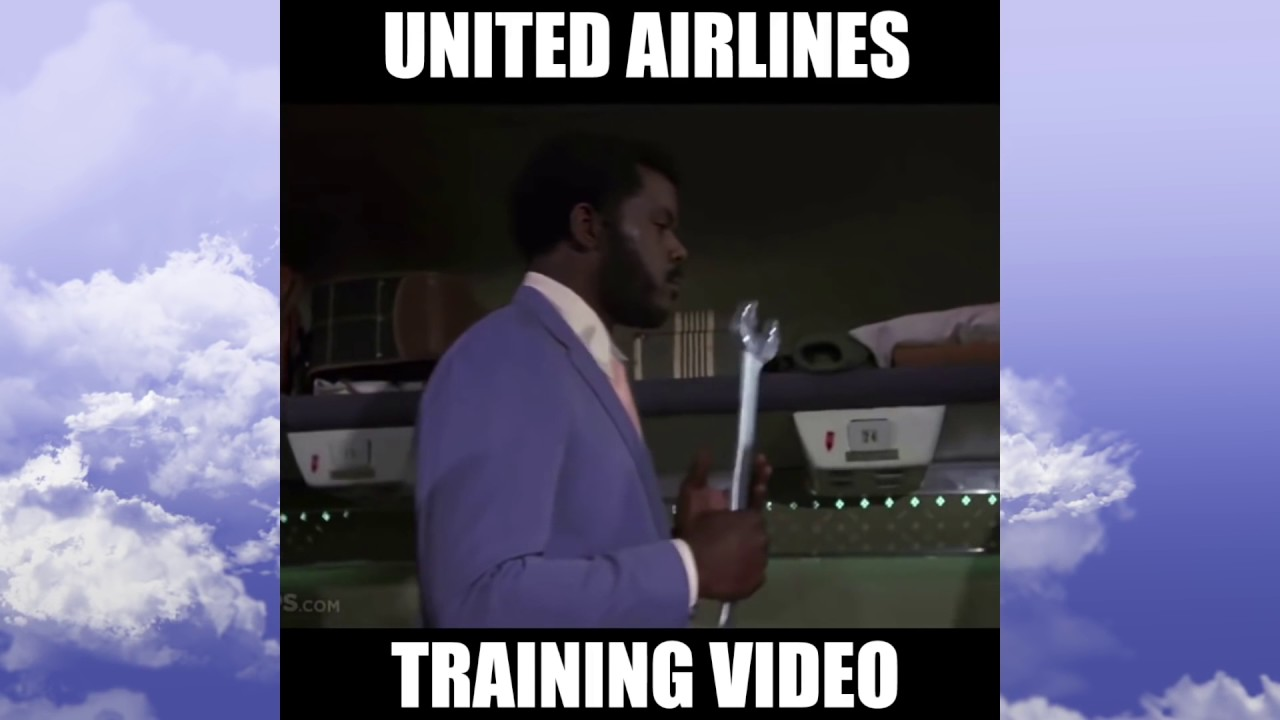 Funny Training Meme : Funny meme united airlines training flight video how to throw