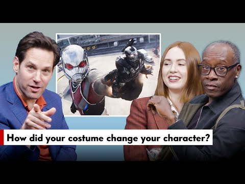 """Avengers: Endgame"" Cast Answers Fan Questions (Paul Rudd, Don Cheadle, & Karen Gillan)"