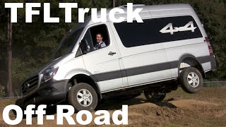2015 Mercedes-Benz Sprinter 4X4 Off-Road First Drive: Dirt, Dust & Diesel(http://www.TFLtruck.com ) The 2015 Mercedes-Benz Diesel Sprinter 4X4 is unique vehicle in that it combines the utility of a van with the go anywhere ..., 2014-10-31T13:59:37.000Z)
