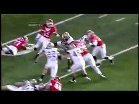 Eric LeGrand paralyzed from Neck Down Rutgers vs Army ...