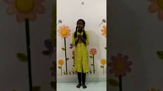Student Anjana Gr 5  Storytelling  Lion and the Mouse