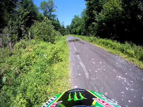 Abbott, Maine - ITS85 North towards Greenville.