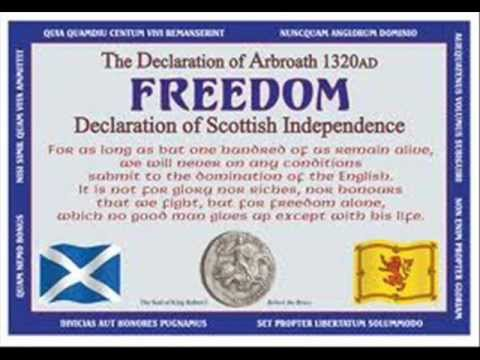 the declaration of arbroath alastair mcdonald - The Declaration Of