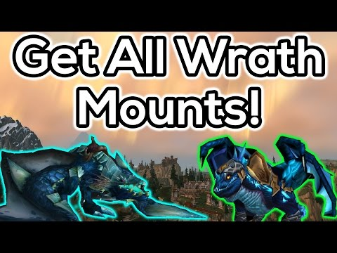 How to Get All Wrath of the Lich King Mounts