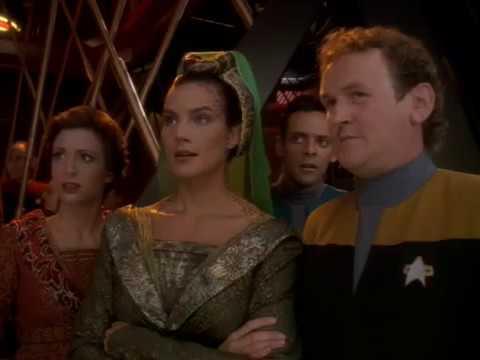 Lieutenant Commander Worf Meet  Lieutenant Commander Jadzia Dax