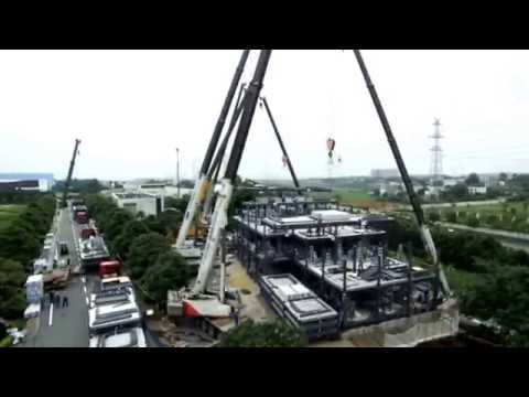 Fastest Hotel Construction @ Ark Hotel Japan (2 days = 15 storeys) - FunnyVideoz