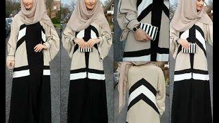 Annah Hariri 2016 Autumn Winter Hijab Abaya Style Fashion