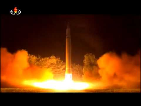 Hwasong-14 launch video, July 28, 2017