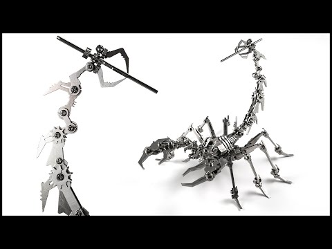 Building a Scorpion from Stainless Steel!!
