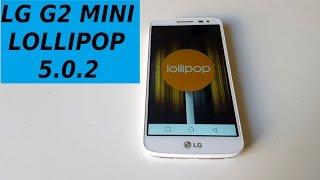 LG G2 Mini aggiornamento ufficiale Lollipop 5.0.2