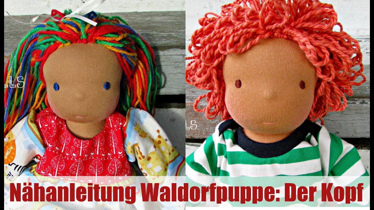 diy waldorfpuppen kopf klassisches sami doll schnittmuster teil 1 youtube. Black Bedroom Furniture Sets. Home Design Ideas