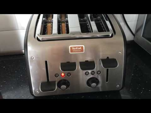 Tefal Maison 4 slice toaster review