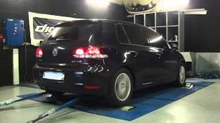 VW Golf 6 tdi 140cv @ 182cv reprogrammation moteur dyno digiservices